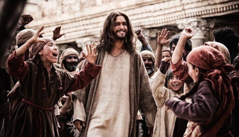 Diogo Morgado na série 'The Bible' do Canal História (foto: divulgação Grace Hill Media)