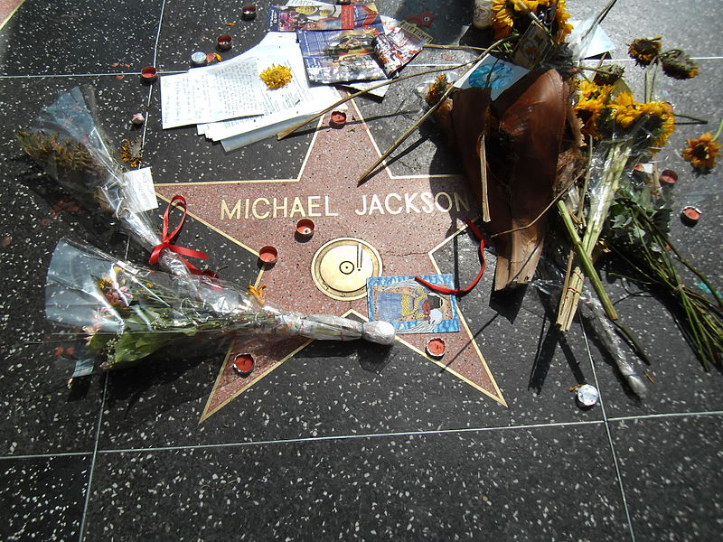 Estrela de Michael Jackson no Passeio da Fama (foto: Sigismund von Dobschütz / wikimedia)