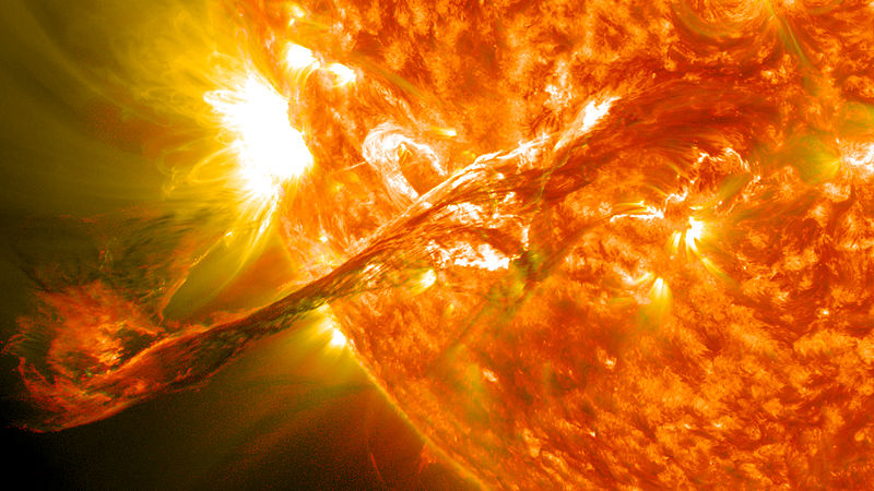 Explosão / erupção solar