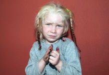 Maria, a menina encontrada na Grécia