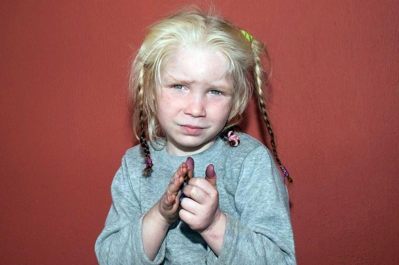 Menina encontrada na Grécia (foto: AFP / Divulgação Polícia Grega)
