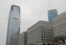 A Goldman Sachs Tower em Jersey City, EUA