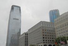 A Goldman Sachs Tower em Jersey City, EUA