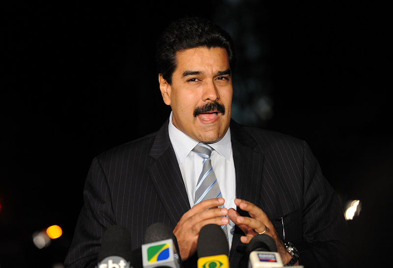 O presidente da Venezuela, Nicolás Maduro (foto: Fabio Rodrigues Pozzebom/ABr)