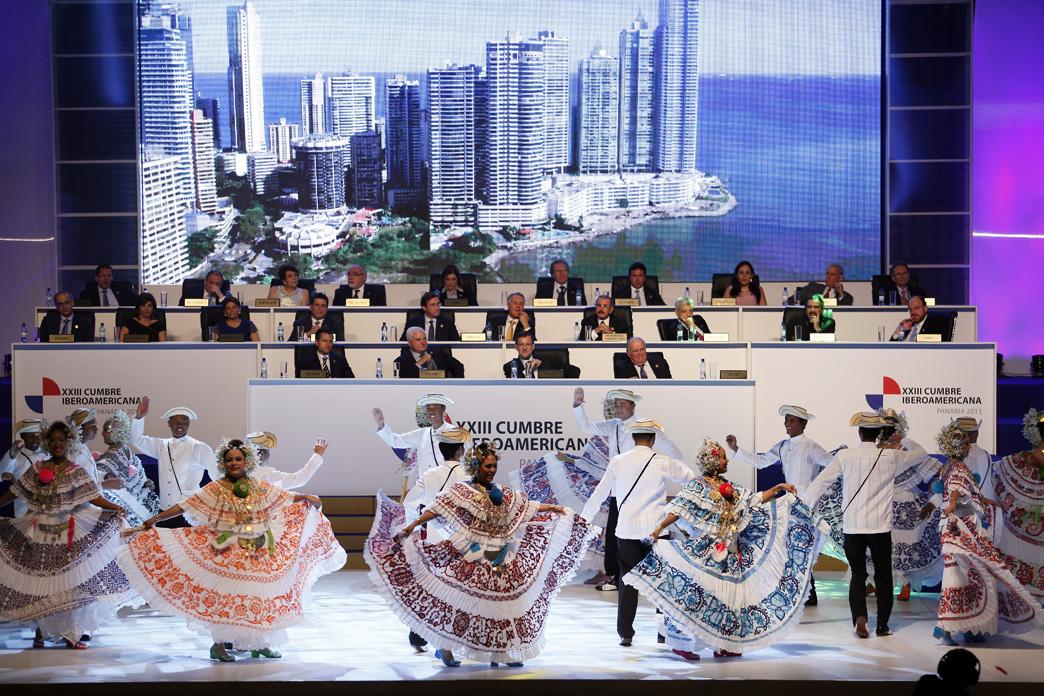 Cerimónia de Inauguração da Cimeira Pan-Americana do Panamá (foto: presidencia.gob.pa)