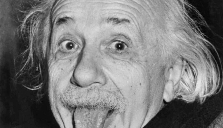 Albert Einstein, o génio com sentido de humor