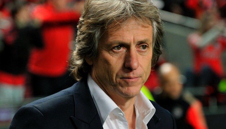 O treinador do Benfica, Jorge Jesus