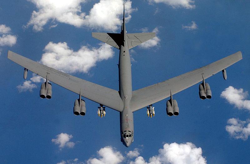 Caça-bombardeiro B-62 da Força Aérea dos EUA (foto: Richard Freeland / USAF)