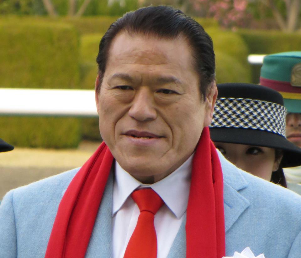 O senador japonês Antonio Inoki (foto: Ogiyoshisan / Wikimedia)