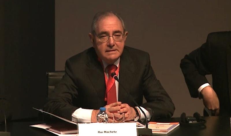 Ministro dos Negócios Estrangeiros, Rui Machete