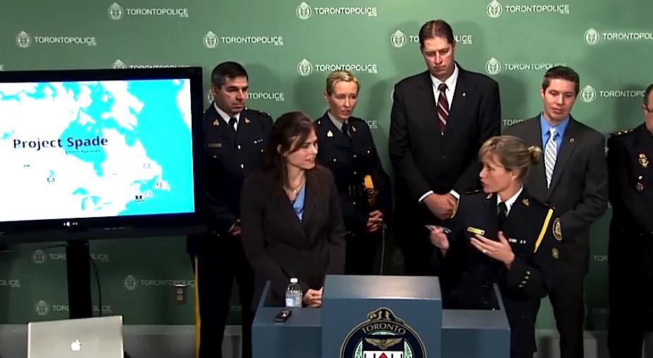Polícia de Toronto, no Canadá, desmantela rede internacional de pedofilia (foto: Toronto Police Video Service)