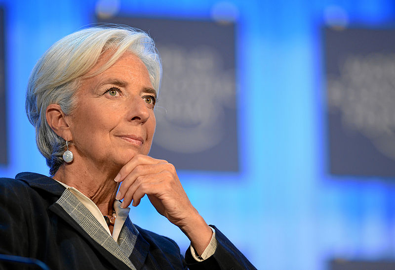 Christine Lagarde, Directora do FMI