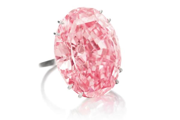 Pink Star, o diamante mais caro de sempre (foto: Sotheby's)