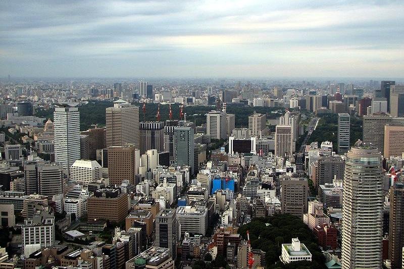 Tóquio, Japão (foto: Chris 73 / wikimedia)