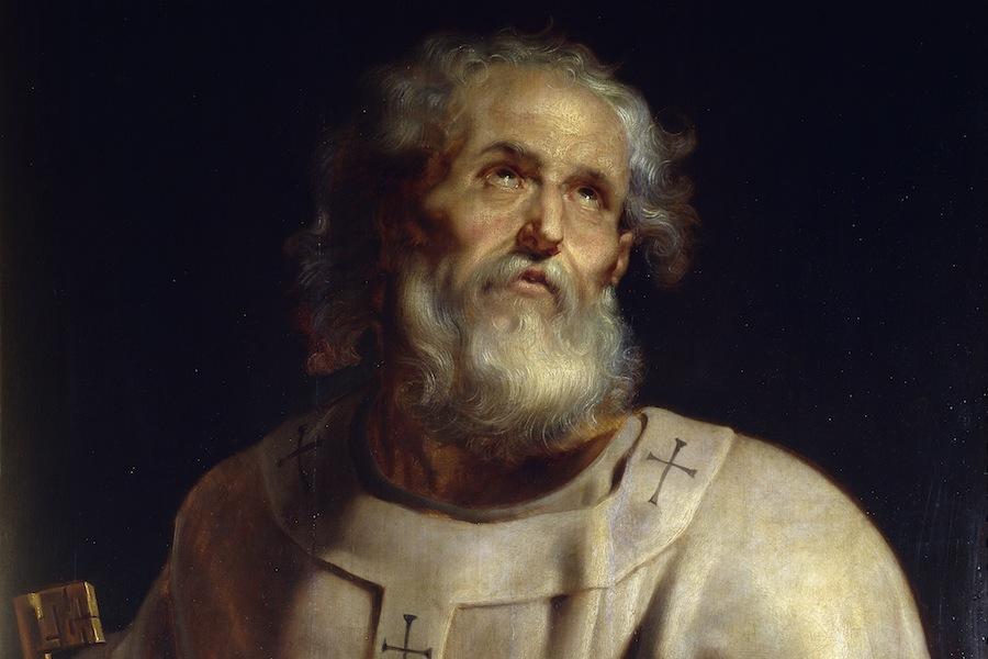 São Pedro, o primeiro Papa da Igreja Católica, óleo de Rubens (foto: Prado / wikimedia)