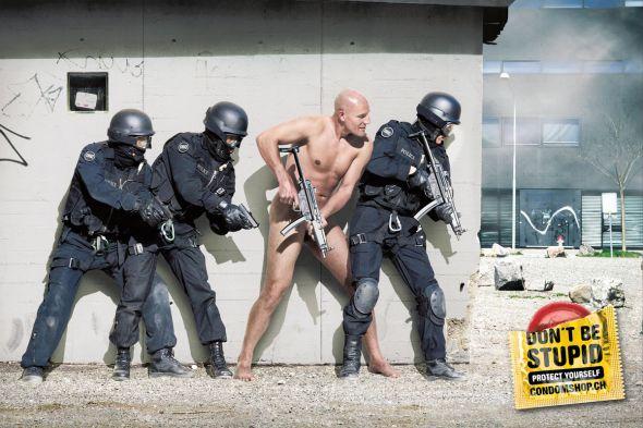 SWAT Team, anúncio Advico / Young & Rubicam, Suíça