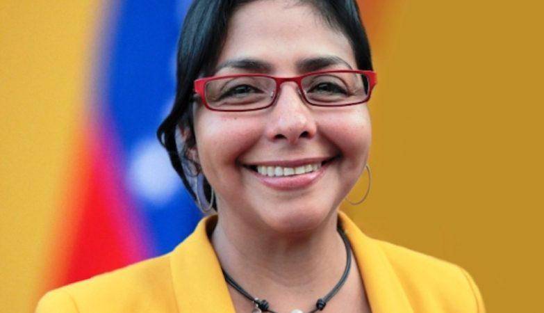 A ministra do Poder Popular para a Comunicação e Informação da Venezuela, Delcy Rodríguez