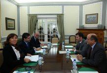 Teresa Leal Coelho  e Marco António Costa em reunião com o Sindicato dos Magistrados do Ministério Público (foto: PSD)