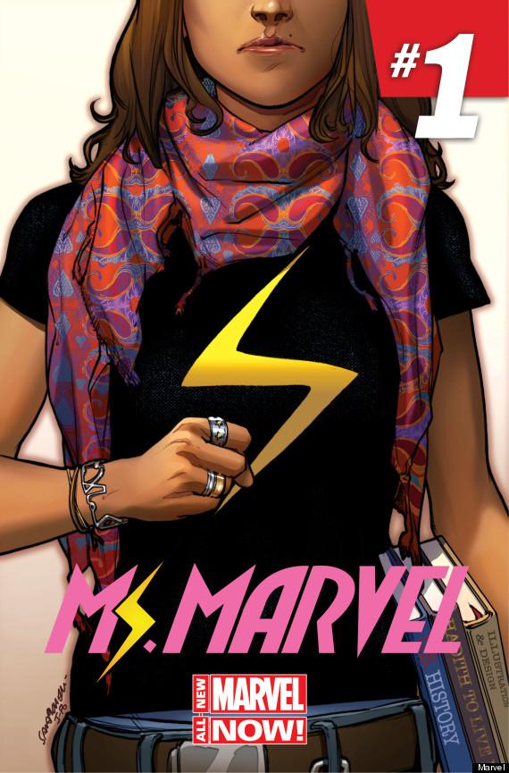 Ms. Marvel / Kamala Khan, a nova super-heroína da Marvel (foto: d.Marvel)