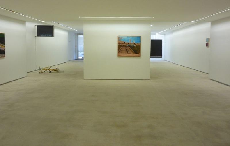 'L' Écriture du Désastre', exposição de João Louro (foto: d.r.  Galeria Fernando Santos)