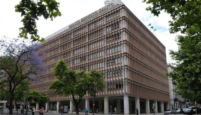 Sede do Banco BES em Lisboa