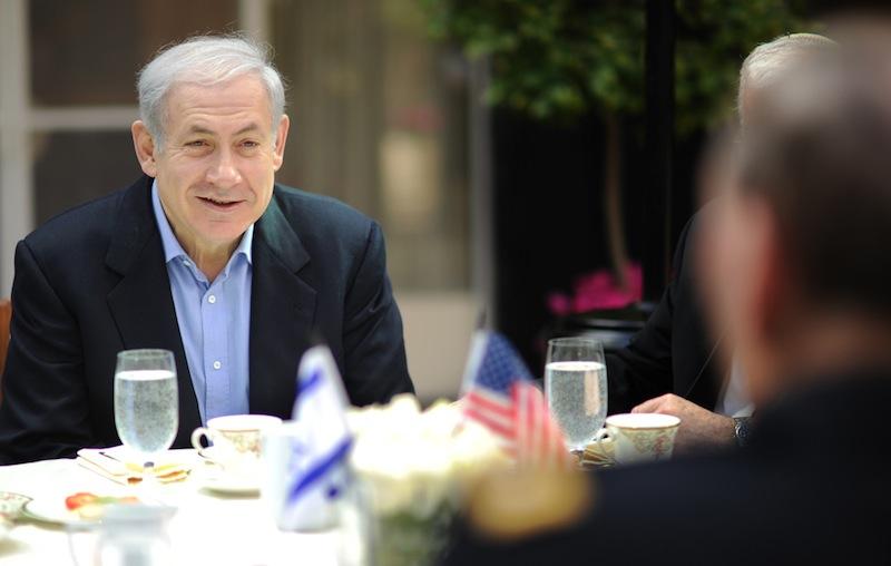 Primeiro-ministro de Israel, Benjamin Netanyahu (foto: D. Myles Cullen / CJCS)
