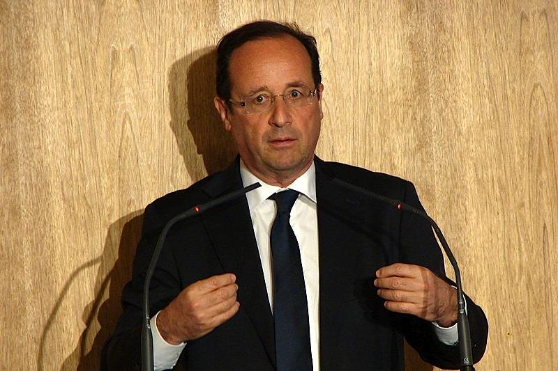 O presidente francês, François Hollande (foto: Copyleft / wikimedia)