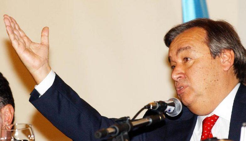 O ex-primeiro-ministro António Guterres