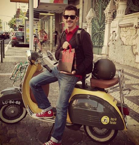 Luís Campos, fundador da 'Moço de Recados' (foto: r.Instagram)