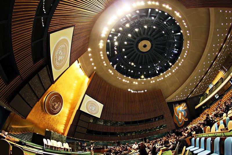 Assembleia Geral das Nações Unidas (foto: Basil D Soufi / wikimedia)