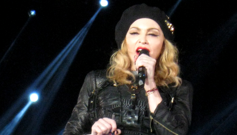 "Madonna na tour ""MDNA"" (foto: Sandro Caldas / Flickr)"