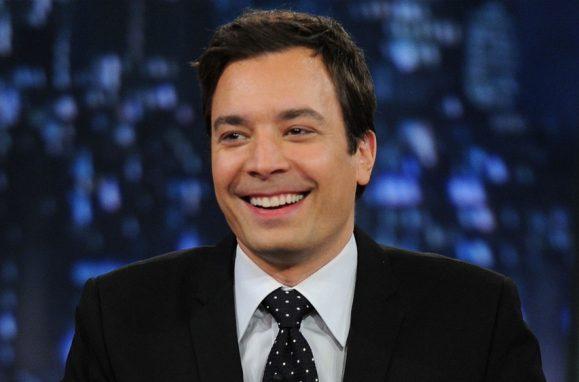 """Jimmy Fallon, apresentador do programa """"The Tonight Show"""""""