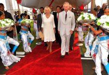 Charles, Príncipe de Gales, e Camilla, Duquesa da Cornualha, no Sri Lanka (foto: d.r. Clarence House)