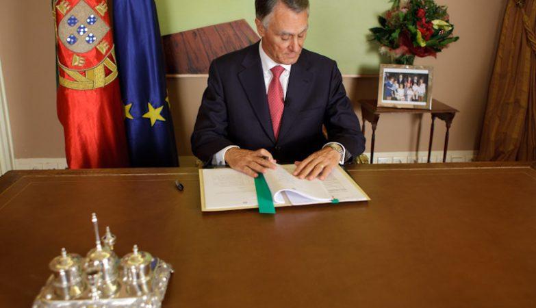 O Presidente da República, Aníbal Cavaco SIlva