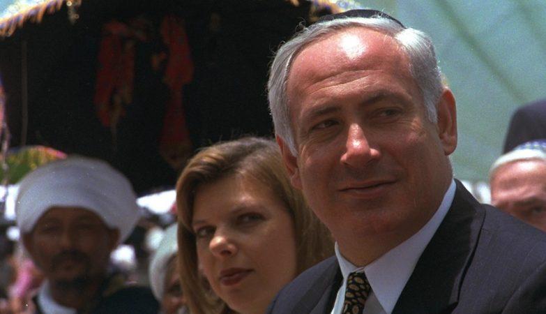 Primeiro-ministro de Israel, Benjamin Netanyahu, e a mulher, Sara