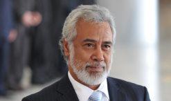 Xanana Gusmão, primeiro-ministro de Timor e ex-líder da resistência timorense
