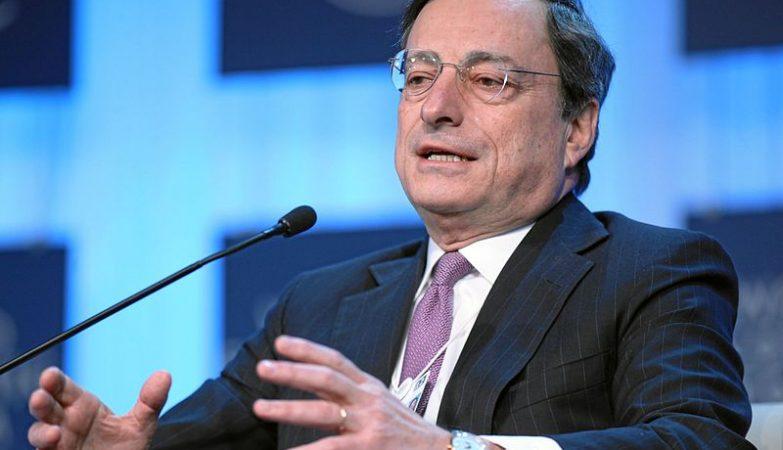 O presidente do Banco Central Europeu (BCE), Mario Draghi