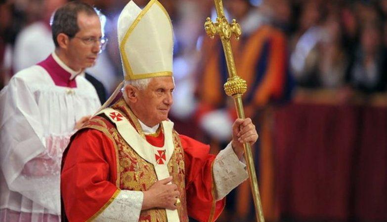 O Papa Bento XVI em 2008