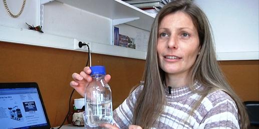 Solange Mussatto, investigadora da Universidade do Minho, criou uma bebida alcoólica a partir de borras de café.