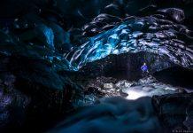 Cavernas de gelo de Vatnajökull, na Islândia (foto: Alex Bradbury)