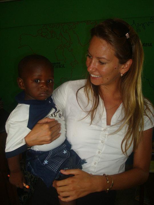 Sarah Gardner no Gana