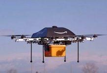 Octocopters, o drone de entregas da Amazon