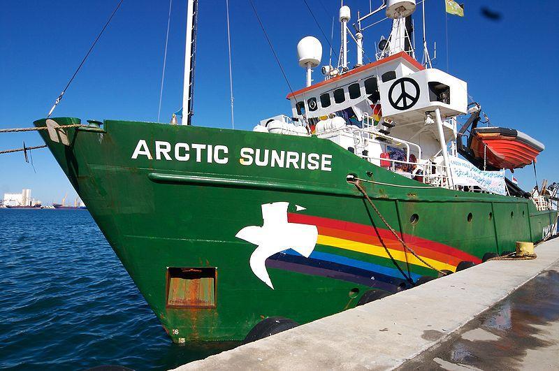 Artic Sunrise, o emblemárico navio da Greenpeace
