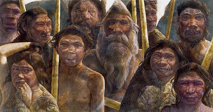 """Os hominídeos da """"Sima de los Huesos"""" viveram no que hoje é o norte de Espanha, há 400.000 anos (foto: d.r. Kennis&Kennis / Madrid Scientific Films)"""