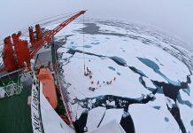 Xue Long, o quebra-gelo chinês Snow Dragon