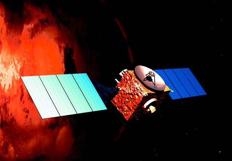 Sonda Mars Express, da ESA