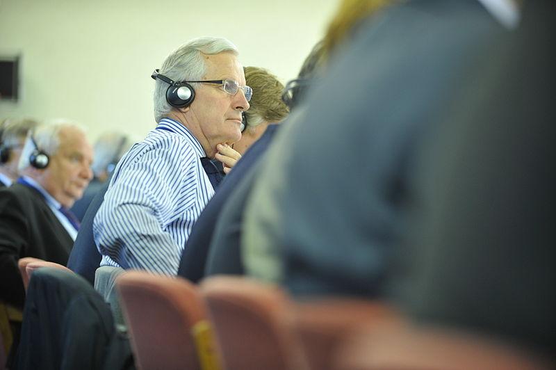O comissário europeu dos serviços financeiros, Michel Barnier (foto: EPP)