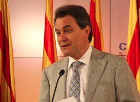 Artur Mas, presidente do governo autónomo da Catalunha