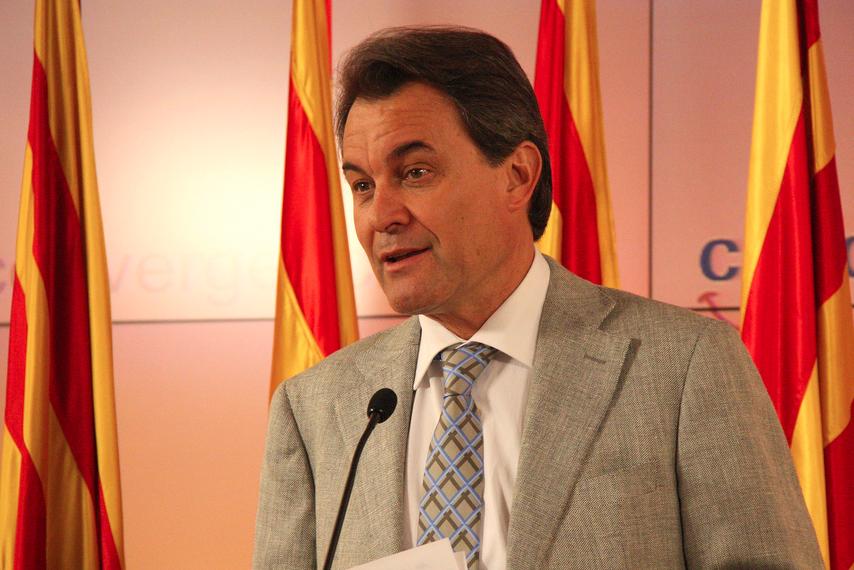 Artur Mas, presidente do governo catalão (foto: Convergència Democràtica de Catalunya / Flickr)