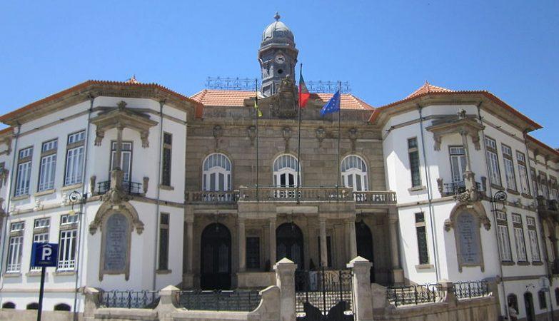 Edifício da Câmara Municipal em Vila Nova de Gaia